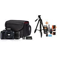 Canon EOS 4000D + 18 – 55 mm Value Up Kit + Rollei Foto Starter Kit 2 - Digitálny fotoaparát