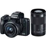 Canon EOS M50 čierny + EF-M 15–45 mm IS STM + EF-M 55–200 mm - Digitálny fotoaparát