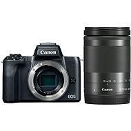 Canon EOS M50 čierny + EF-M 18–150 mm IS STM - Digitálny fotoaparát