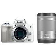 Canon EOS M50 biely + EF-M 18–150 mm IS STM - Digitálny fotoaparát