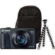 Canon PowerShot SX740 HS čierny Travel kit - Digitálny fotoaparát