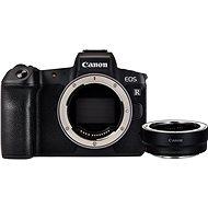 Canon EOS R telo + EF-EOS R adaptér - Digitálny fotoaparát