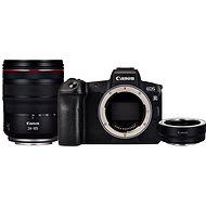 Canon EOS R + RF 24–105 mm L USM + EF-EOS R adaptér - Digitálny fotoaparát