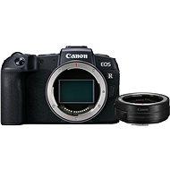 Canon EOS RP čierny + EF-EOS R adaptér - Digitálny fotoaparát
