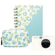 Canon Zoemini S perleťovo biely – Essential Kit - Instantný fotoaparát