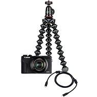 Canon PowerShot G7 X Mark III Webcam Kit čierny - Digitálny fotoaparát