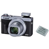Canon PowerShot G7 X Mark III Battery Kit strieborný - Digitálny fotoaparát