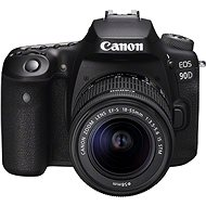 Canon EOS 90D + 18–55 mm IS STM