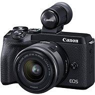 Canon EOS M6 Mark II + 15–45 mm + hľadáčik EVF - Digitálny fotoaparát