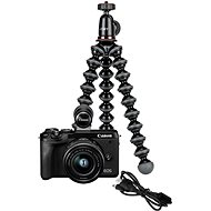 Canon EOS M6 Mark II + 15–45 mm Webcam Kit čierny