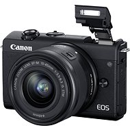 Canon EOS M200 + EF-M 15-45mm f/3.5-6.3 IS STM černá - Digitálny fotoaparát