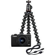 Canon EOS M200 + EF-M 15–45 mm IS STM Webcam Kit čierny