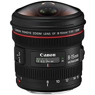 Canon EF 8–15 mm F4.0 L USM Fish-Eye - Objektív