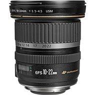 Canon EF-S 10 - 22 mm F3.5 - 4.5 USM Zoom čierny - Objektív