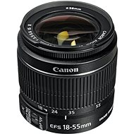 Canon EF-S 18-55 mm F3.5 - 5.6 IS II Zoom čierny - Objektív