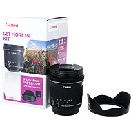 Canon EF-S 10 – 18 mm f/4.5 – 5.6 IS STM + EW-73C - Objektív