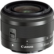 Canon EF-M 15–45 mm f/3,5 – 6,3 IS STM Graphite