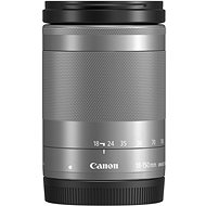 Canon EF-M 18–150 mm f/3,5–6,3 IS STM strieborný - Objektív