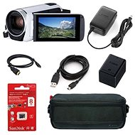 Canon Legria HF R806 kamera biela - Essential kit