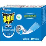 RAID elektrický odparovač suchý vankúšik 1 + 10 ks - Odpudzovač hmyzu