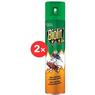 BIOLIT UNI 007 Spray against flying and crawling insects 2×300 ml - Insect Repellent