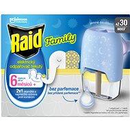 RAID elektrický odparovač s tekutou náplňou Family 21 ml - Odpudzovač hmyzu