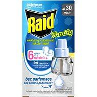 RAID elektrický tekutá náplň Family 21 ml - Odpudzovač hmyzu