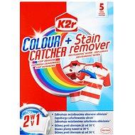 K2R Colour catcher + Stain remover (5 ks) - Pracie vrecúška
