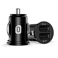 Odzu Car Charger Mini Black - Nabíjačka do auta