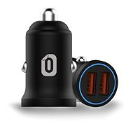 Odzu Car Charger Mini 2x Quick Charge 3.0 Black - Nabíjačka do auta