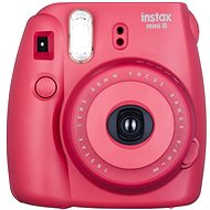 Fujifilm Instax Mini 8S Instant camera, malinový Medium Kit - Digitálny fotoaparát