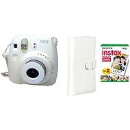 Fujifilm Instax Mini 8 Instant camera biely Laporta kit