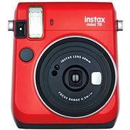 Fujifilm Instax Mini 70 červený - Instantný fotoaparát