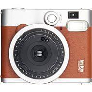 Fujifilm Instax Mini 90 Instant Camera hnedý - Instantný fotoaparát