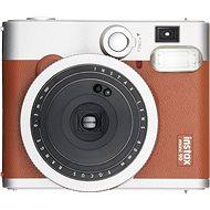 Fujifilm Instax Mini 90 hnědý + 10× fotopapier + puzdro - Instantný fotoaparát