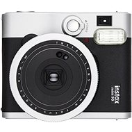 Fujifilm Instax Mini 90 čierny + 10× fotopapier + puzdro - Instantný fotoaparát