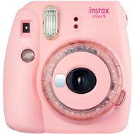 Fujifilm Instax Mini 9 ružový + modrá sada príslušenstva