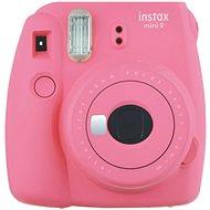 Fujifilm Instax Mini 9 ružový + film 1×10 - Instantný fotoaparát
