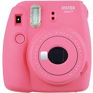Fujifilm Instax Mini 9 Ružový + film 1×10 + puzdro - Instantný fotoaparát