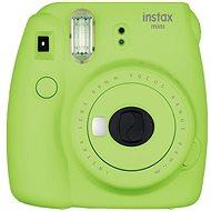 Fujifilm Instax Mini 9 limetkový + film 1×10 + pouzdro - Instantný fotoaparát
