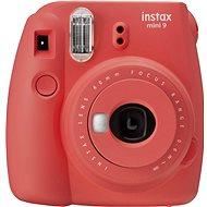 Fujifilm Instax Mini 9 červený - Instantný fotoaparát