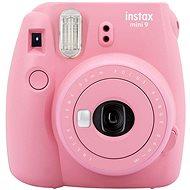 Fujifilm Instax Mini 9 ružovo červený - Instantný fotoaparát