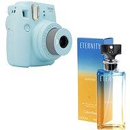 Fujifilm Instax Mini 9 svetlo modrý + CALVIN KLEIN Eternity Summer 2017 EdP 100 ml - Instantný fotoaparát