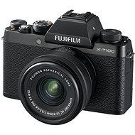 Fujifilm X-T100 čierny + XC 15–45 mm f/3,5–5,6 OIS PZ - Digitálny fotoaparát