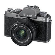 Fujifilm X-T100 strieborný + XC 15–45 mm f/3,5–5,6 OIS PZ - Digitálny fotoaparát