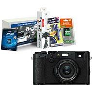 FUJIFILM FinePix X100F čierny + Fujifilm Foto Starter Kit - Digitálny fotoaparát