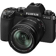 Fujifilm X-S10+ 18–55 mm čierny - Digitálny fotoaparát
