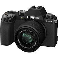 Fujifilm X-S10+ 15–45 mm čierny - Digitálny fotoaparát