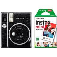 Fujifilm Instax Mini 40 + 10× fotopapier - Instantný fotoaparát