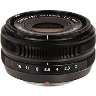 Fujifilm Fujinon XF 18 mm F/2,0 - Objektív